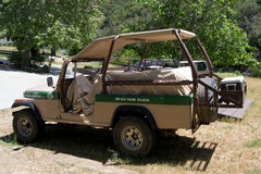 Safari mod jeep Stock Photography