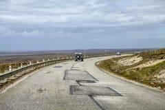 safari 4X4 nelle Malvinas Islands-3 Fotografie Stock Libere da Diritti