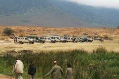 Safari parking Stock Photos