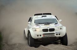Safari Rally Cross Championship polonaise Photo libre de droits