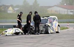 Safari Rally Cross Championship polonesa Fotos de Stock