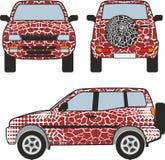 Safari samochód royalty ilustracja
