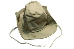 Safari-Schutzkappe stockbilder