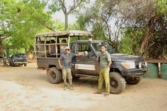 Safari Staff imagens de stock
