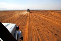 Safari sur des jeeps Photo libre de droits