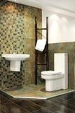 safari toaleta Fotografia Stock
