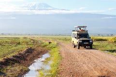 Safari tourists Royalty Free Stock Image