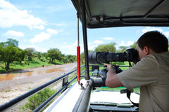 Safari vacation Royalty Free Stock Photos