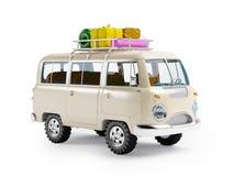 Safari van with roofrack Royalty Free Stock Photo