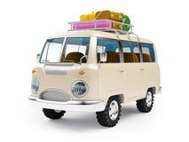 Free Safari Van With Roofrack Royalty Free Stock Image - 63913726