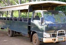 Safari Vehicle Stock Photo