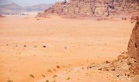 Safari at Wadi Rum Desert in Jordan Royalty Free Stock Images