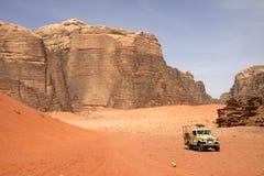 Safari in woestijn Royalty-vrije Stock Foto's