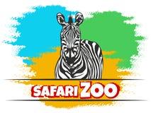 Safari Zoo Emblem Stock Photos