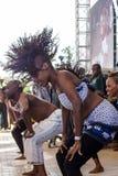Safaricom爵士节舞蹈家 库存照片