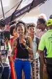 Safaricom Jazz Festival Fans Foto de archivo libre de regalías