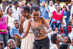 Safaricom Jazz Festival Fans Stock Images