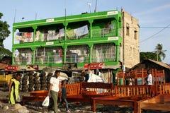 Safaricom shoppar mombasa Royaltyfri Bild