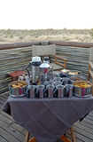Safarifrühstück Lizenzfreies Stockfoto
