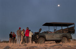 Safarigetränkhalt Stockfotos