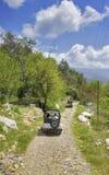 safarikalkon för jeep s Arkivfoto