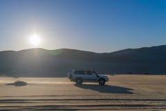 Safarireis in Siwa-woestijn, Egypte royalty-vrije stock fotografie