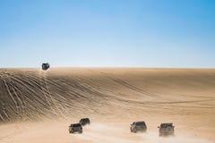 Safarireise in Siwa-Wüste, Ägypten lizenzfreie stockfotografie