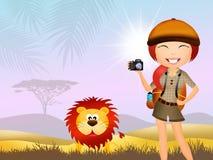safaris Imagenes de archivo