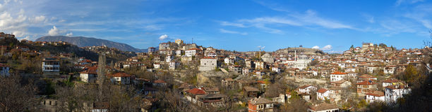 Safarnbolu - panorama of traditional Ottoman town, Turkey Royalty Free Stock Photography
