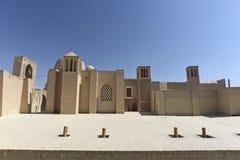 Safavi moské i Isfahan, Iran Arkivfoto
