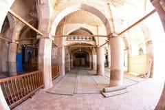 Safavi moské i Isfahan, Iran Arkivbild