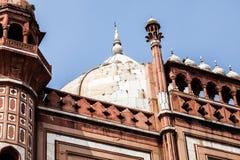 Safdarjung的坟茔是一个庭院坟茔在一个大理石陵墓在德里,印度 免版税库存图片