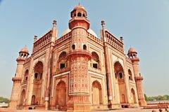Safdarjung gravvalv, New Delhi Arkivfoto