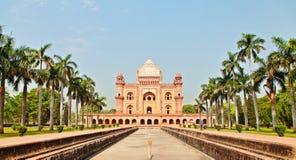 Safdarjung gravvalv, New Delhi Royaltyfria Bilder