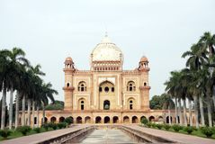 Safdarjung ` s坟茔,新德里 库存照片