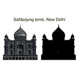 Safdarjung tomb Royalty Free Stock Photography