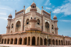 SafdarJung's Tomb against blue sky Royalty Free Stock Photo