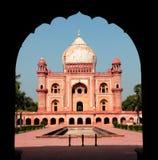 Safdarjunggraf, New Delhi Royalty-vrije Stock Foto