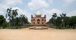 Safdarjungs Grab, Neu-Delhi Stockbilder