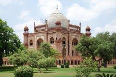 Safdarjungs Grab, Neu-Delhi Stockfotos