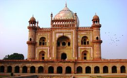 Safdurjung Tomb in New Delhi India Royalty Free Stock Photos