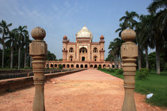 Safdurjung Tomb, New Delhi, India Royalty Free Stock Image