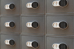 Safe. The bank safe with the digital lock Royalty Free Stock Photos