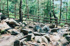 Safe ascent to the mountain Royalty Free Stock Photography