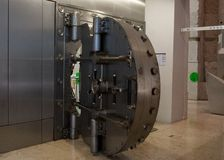 Safe. Bank gold safe Royalty Free Stock Photography