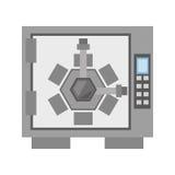 Safe box lock combination security. Illustration eps 10 Stock Photos