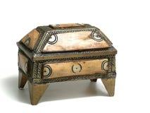 Safe box made in bone Stock Image