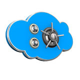 Safe Cloud Stock Image