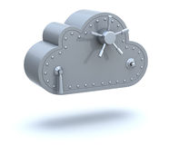 Safe cloud computing concept Stock Photos