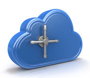 Safe cloud computing concept Royalty Free Stock Photos